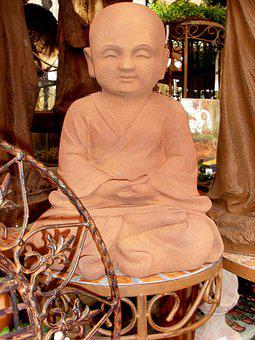 Buddha, Statue, Sculpture, Stone Figure, Art, Figure