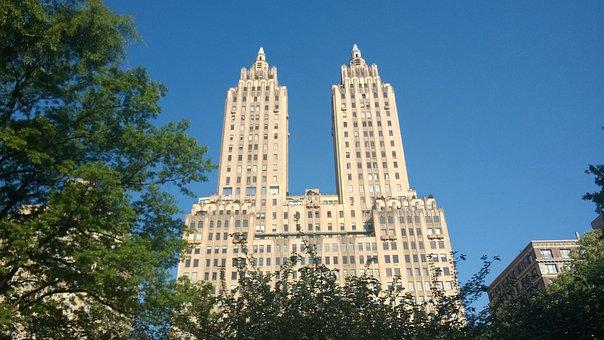 Building, New York, Manhattan, Film, Ghostbusters