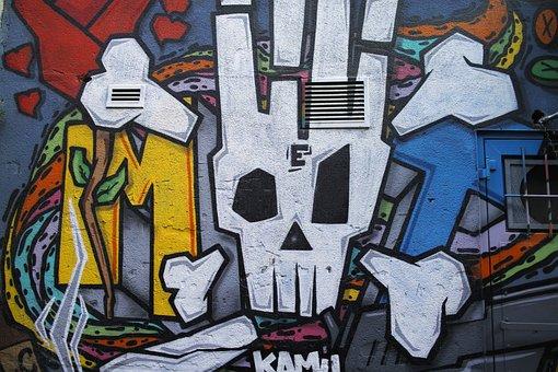 Graffiti, Pictures, City center, Conceptual, Beauty