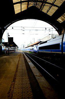 Tgv 2, Railway, Team, French, High Speed