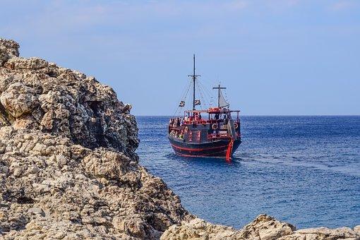 Cyprus, Cavo Greko, Cruise Boat, Tourism, Leisure