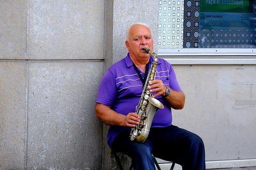 Musician, Saxophone, Music, Instrument