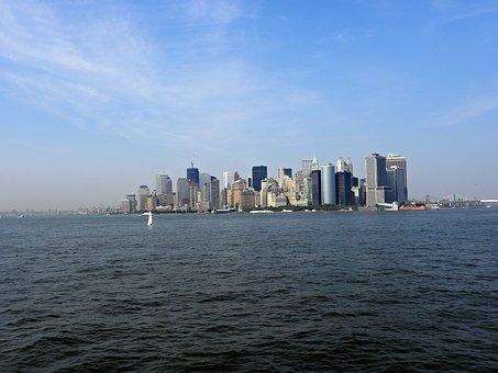 New York, Panoramic View, Manhattan, Panorama, City