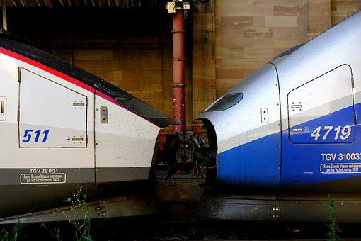 Tgv 1 And 2, Coupled, Clutch, Old And New, Connected