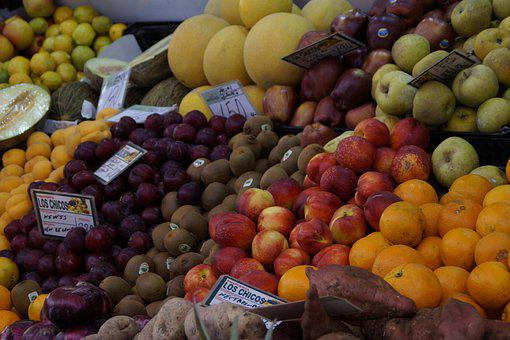 Fruit, Fruits, Market, Market Stall, Purchasing