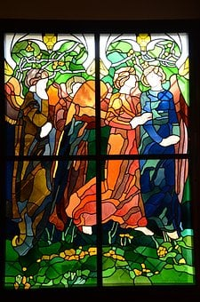 Stained Glass Window, Church, Window, The Sanctuary