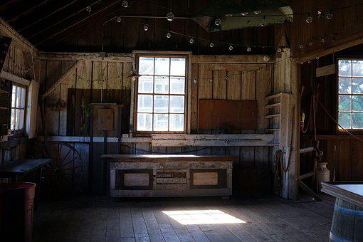 Barn, Wood, Weathered, Wall, Wooden, Table, Aged, Old