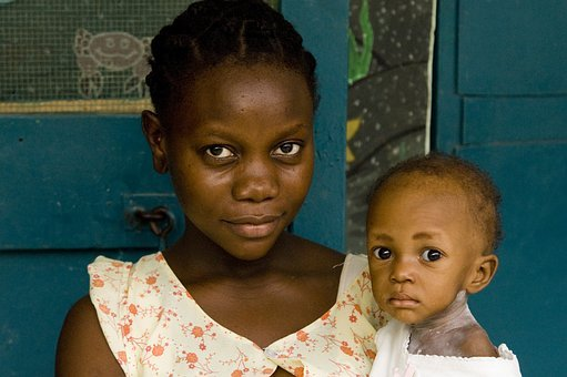 Mother, Baby, Haiti, Child, Infant, Young, Parent, Love