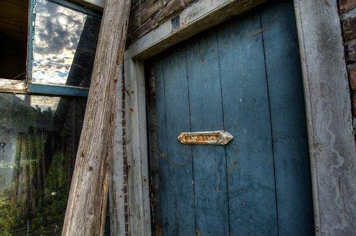 Old, Door, House, Broken, Abandoned, Vintage, Entrance