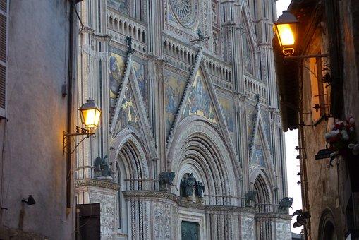 Orvieto, Duomo, Architecture, Italy, Dome, Monument