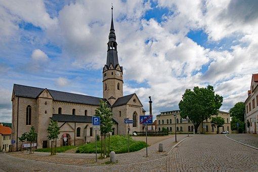 Ulrici Church, Sangerhausen, Saxony-anhalt, Germany