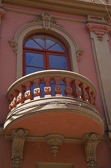 Balcony, Facade, Window, Building, Home Front