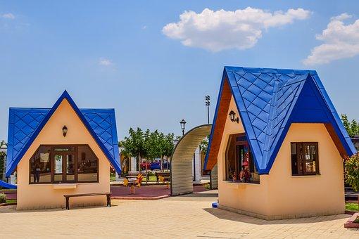 Kiosk, Building, Architecture, Design, Exterior, Square