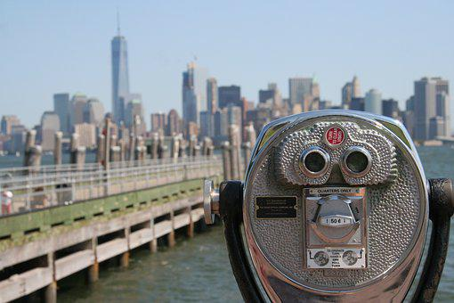 Nyc, New York, Manhattan, New York City Skyline