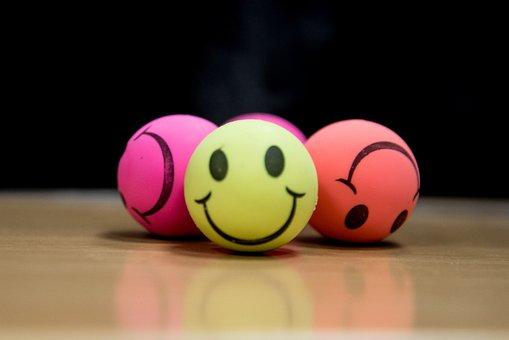 Smile, Smiley, Ball, Stress Ball, Happy, Face