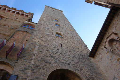 San Gimignano, Tuscany, Tower, Italy, Travel, City