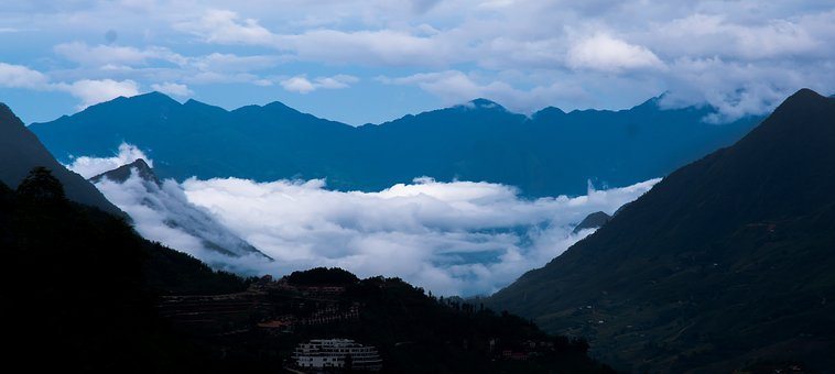 Cloud, Valley, Color, Trip, Ray, Light, Vietnam