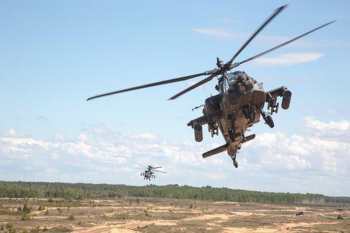 Ah-64d, Apache, Sabre Strike 2017