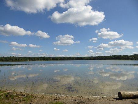Lake, Water, Badesee, Nature, Swim, Natural Lake