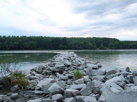 Danube, Landscape, Water, River, Nature, Stream