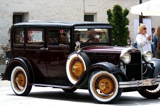 Spain, Car, Antique, Travel, Transport, Europe