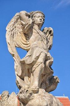 Figure, Monument, Sandstone, The Statue, Sculpture