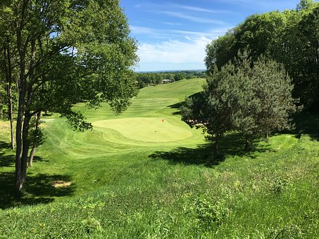 Green, Golf, Route