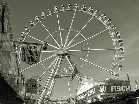 Ferris Wheel, Year Market, Hamburg, Hamburgensien
