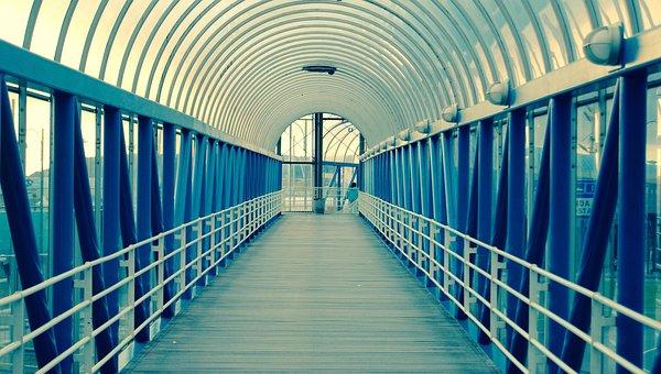 Subway, Walkway, Interior, Indoor, Tunnel, Corridor