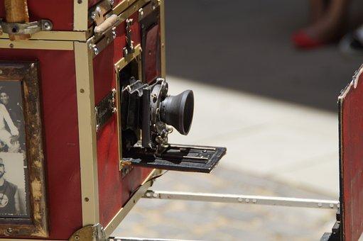 Camera, Old, Antique, Vintage, Photography, Nostalgia