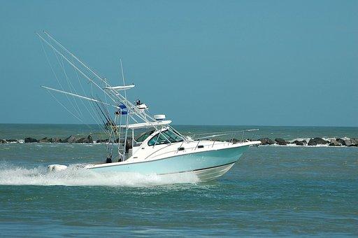 Sport Fishing Boat, Boat, Fish, Sport, Game Fishing