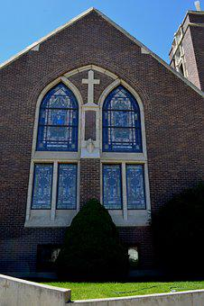Church, Stained Glass, Window, Stained Glass Window