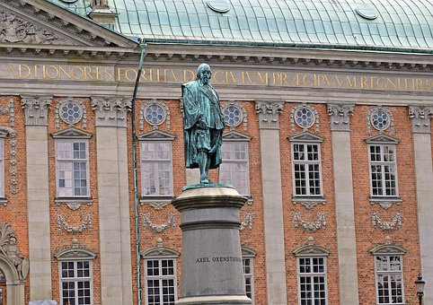Stockholm, Statue, Axel Oxenstierna, The Old Town