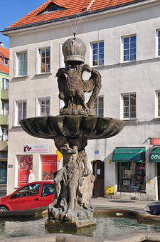 The Fountain In The Baroque Style, Barok, Fountain