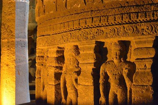 Ajanta, Cave, Buddhism