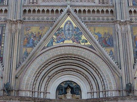 Orvieto, Duomo, Architecture, Dome, Italy, Church