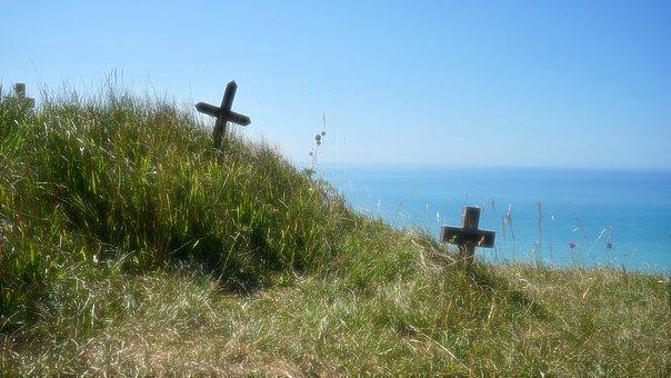 Beachy Head, Sad, Cliff, Coast, Coastline, Desolate