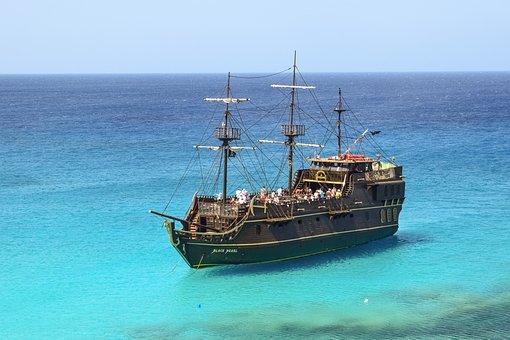 Cyprus, Cavo Greko, Cruise Ship, Tourism, Leisure