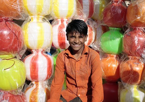 Indian Boy, Indian Shop, Plastic Product, Male