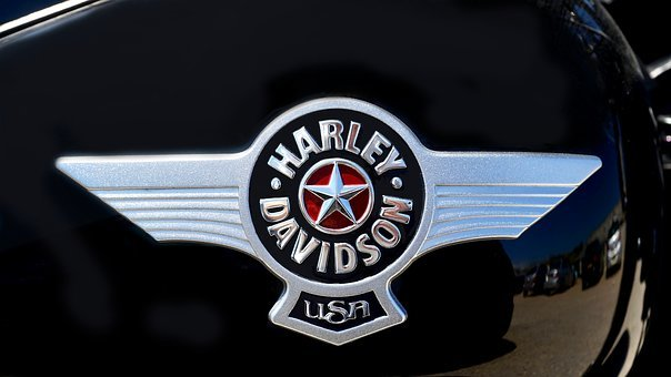 Harley Davidson, Badge, Motorcycle, Davidson, Harley