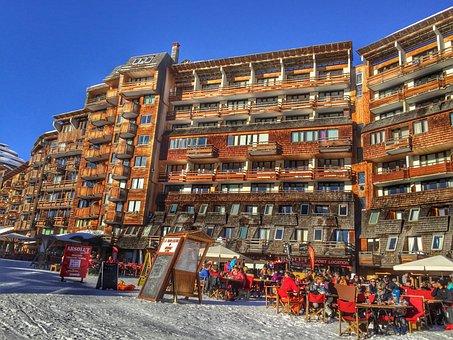 Avoriaz, France, Ski Resort, Winter, Ski Holiday