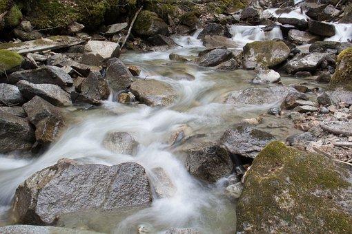 Slow Shutter Stream, Alaskan Stream, Stream