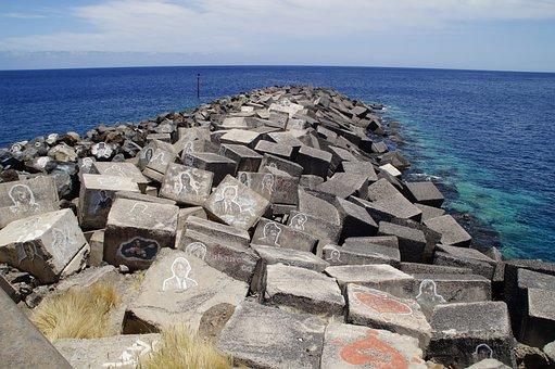 Mole, Bank, Shore Stones, Santa Cruz, Tenerife