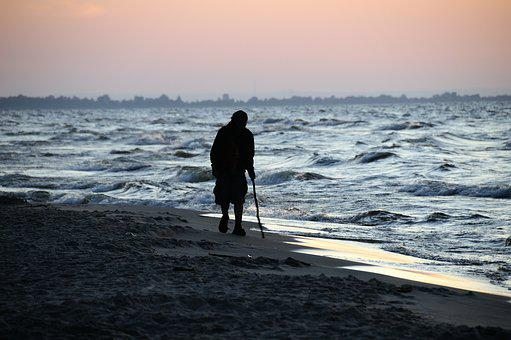 The Baltic Sea, Sea, Sunset, The Coast, Water, Summer