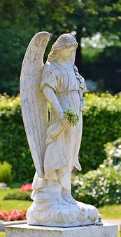 Angel, Stone, Sculpture, Figure, Deco, Angel Figure