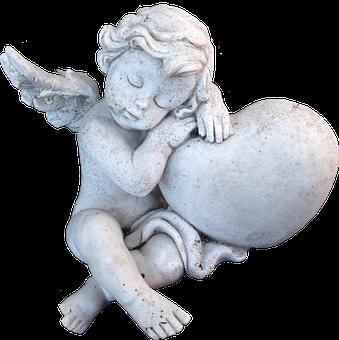Angel, Sculptures, Figure, Faith, Hope, Tombstone
