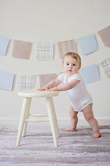 Baby, Cute, Stool, Innocence, Little, Expression