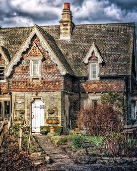 House, Country, Country House, Building, Cottage, Rural
