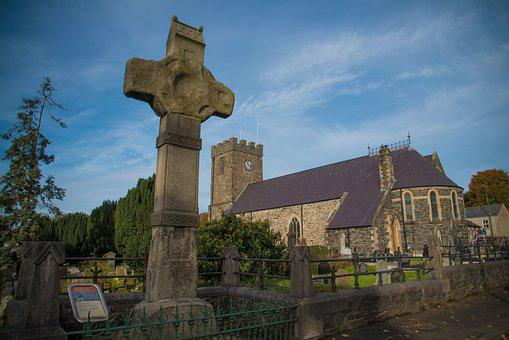 Dromore High Cross And Cathedral, High Cross, Historic