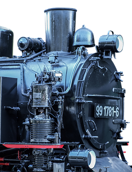 Locomotive, Blackjack, Old, Steam Locomotive, Nostalgic
